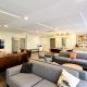 Wide shot of St Catherines Student Common Room