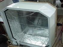 Insulated Engine Hatch